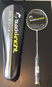 Raquette de badminton blackknight uni-force x20 valeur 120$