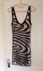 Lipsy sequin dress