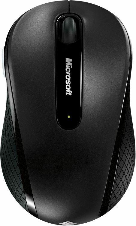 Microsoft - Wireless Mobile Mouse 4000 - Graphite