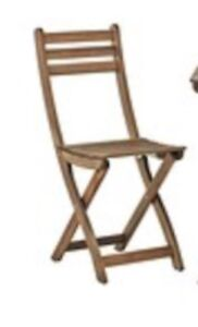 3 chair wooden patio set
