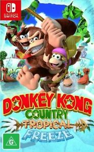 Donkey country tropical freeze for nintendo switch
