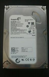 500 GB Seagate Barracuda HDD