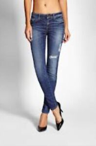 Brand New With Tags Guess Brittney Mid Rise Skinny Jeans Size 26