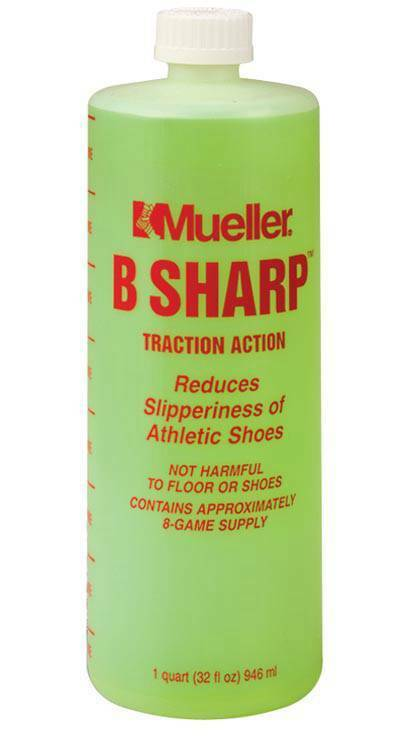 Mueller B-Sharp Traction Action Shoe Sole Cleaner Grip Enhancer 32oz