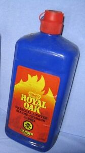 1 Litre Bottle of Royal Oak Charcoal Lighter Fluid