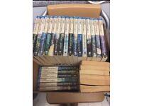 "Complete Norwegian saga in Polish - 47 books ""Saga o ludziach lodu"""
