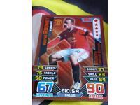 match attax limited edition Rooney bronze