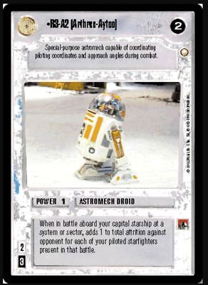 Star Wars CCG Theed Palace Battle Droid Officer NrMint-MINT SWCCG