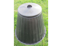 Large Plastic bin /Cover, with lid.