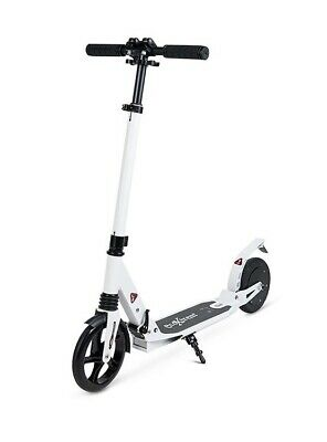 Patinete Scooter electrico plegable Ecoxtrem 150W E9 20km/h color blanco OFERTA