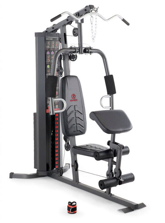 Marcy Gym MWM-1005, 150 LB. Weight Stack, Complete Home Gym System