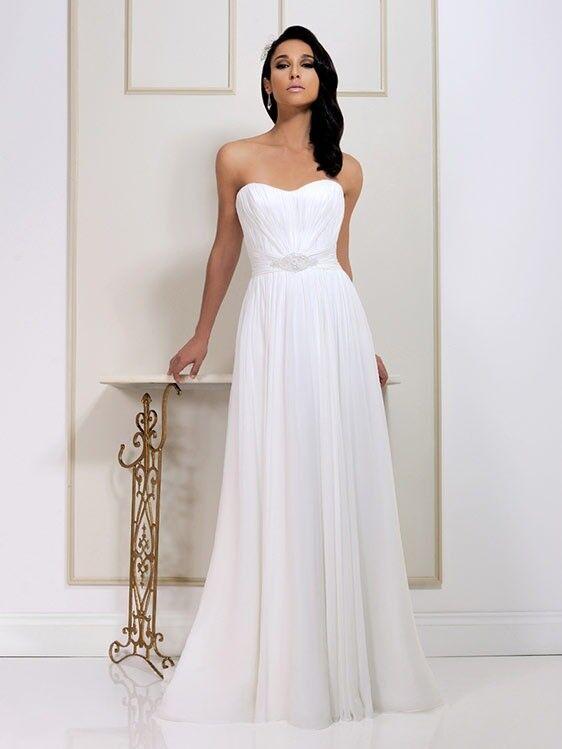 Brand New Benjamin Roberts 2562 Wedding Dress Size 12 White