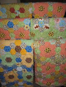 Handsewn Lap Quilts / Baby Quilts  by Steve Meek of Peterborough Peterborough Peterborough Area image 10