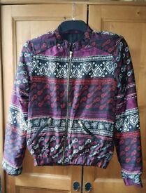 Quilted jacket - size 8