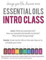 Young Living Essential Oils Classes