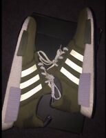 "Nmd ""olive"" size 13 for cheap."
