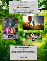 Summer Hiking  & Workout Group