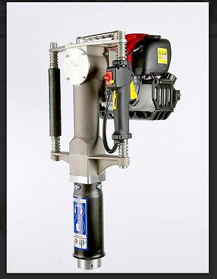 Redi Boss Gas Powered Post Driver-honda Motor- Largest Stl Barrel On The Market