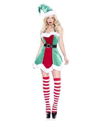Music Legs North Pole Santa Women's Halloween costume 70943 Christmas PartyDress - North Halloween Costume