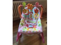 Fisher price rocking chair from baby to toddler