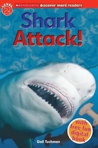 Scholastic-Discover-More-Reader-Level-2-Shark-Attack-ExLibrary