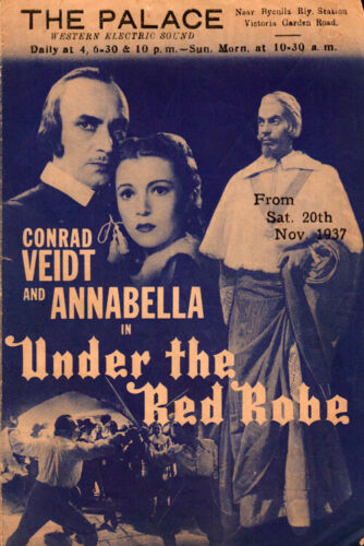 Under the Red Robe  Original Movie Herald from the 1937 Movie