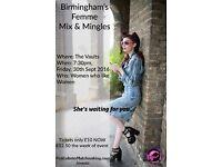 Birmingham Femme Mix & Mingles