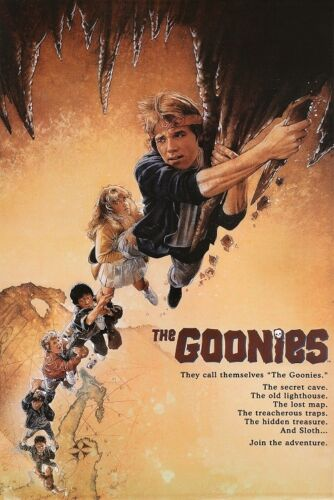 THE GOONIES MOVIE POSTER Classic Movie Art (Size 24x36 inches)