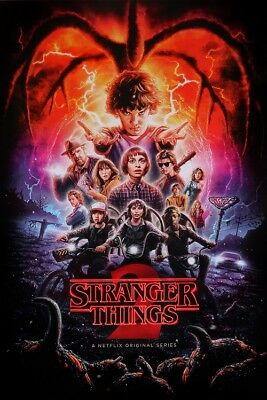 STRANGER THINGS Season 2 POSTER, Size 24x36