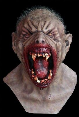 Deluxe Werewolf Mask (Werewolf Warrior Transformation DELUXE ADULT LATEX FARKASZ WOLFMAN)