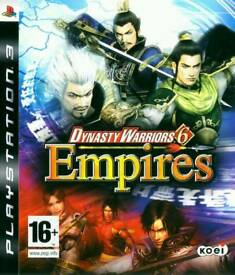 Dynasty Warriors 6 - Empires Gaming /Playstation3 Games