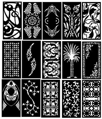 Dxf Of Laser Cut -cnc Vector Dxf-cdr - Ai Art File 40 Items