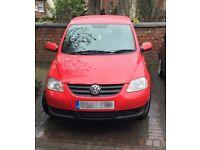 Volkswagen FOX, 1.2 litre, Excellent Condition, 12 month MOT