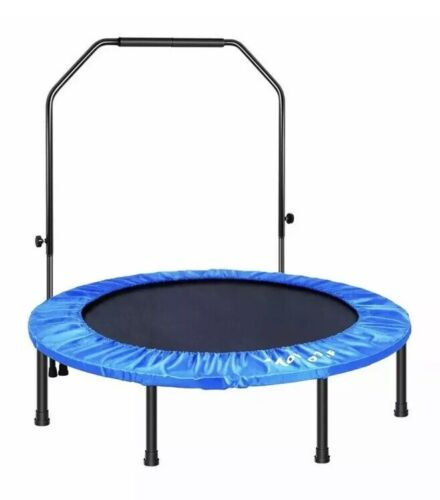 "MOVTOTOP 48"" Folding Indoor Trampoline Portable Trainer"