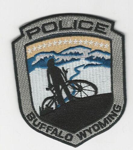 Bike Unit Patrol Buffalo Police State Wyoming WY