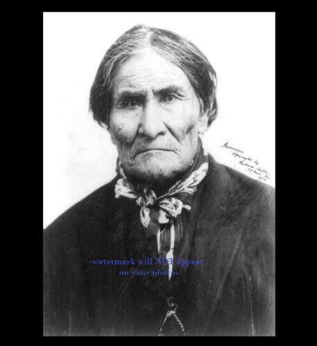 1904 Geronimo PHOTO St Louis Worlds Fair,Apache Native American Indian Chief