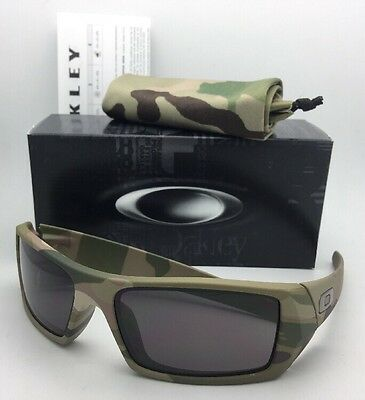 Neu Oakley Sonnenbrillen Gascan 53-083 60-15 Multi-Camouflage Tarnung Rahmen W/