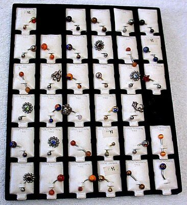 BODY JEWELRY CORD  ITALIAN CHARMS HUGE LOT CLOSEOUT BELOW COST EBS8664 - Below Cost Closeouts