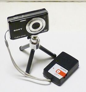 about SONY CyberShot DSC-W230 12MP Digital Camera - Black CYBER-SHOT