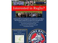 Lismore RFC are looking for new male & female players!