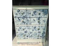 *Sale*large Upcycled chest of drawers/dressing table unique