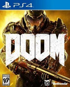 Doom ps4 50$ non négociable et pas d'échange