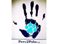 Paws2Palm dog walking/sitting/taxi