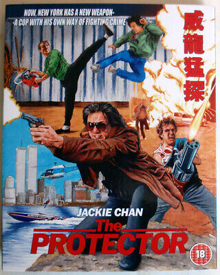 THE PROTECTOR - 1985 - BLU-RAY - 88 FILMS - JACKIE CHAN / DANNY AIELLO