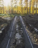SEPTIC SYSTEM DESIGN AND INSTALL, HOLDING TANKS, WATER CISTERNS