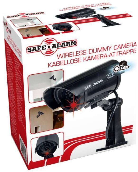 Draadloze dummy camera.