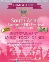 Vendors Wanted - South Asian Summer EID Festival 2016
