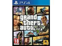 Wanted, GTA V for PS4