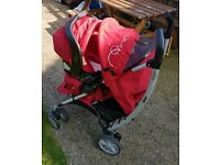 Buggy with Car seat Graco 0-3 years.