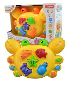 Music Crab Educational Toy Gift For Boys & Girls